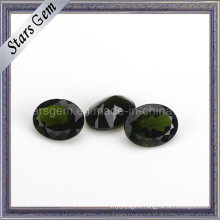 Hot Sale Stone Natural Cut Oval Shape Natural Diopside