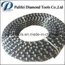 Scie à câble de main de coupe de pierre de quartz de marbre de granit