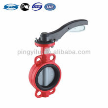 Made in China Russian standard cast iron butterfly valve wafer type D71X-10