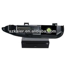 Android System lecteur dvd de voiture pour Renault Scenic avec GPS, Bluetooth, 3G, ipod, jeux, double zone, contrôle du volant