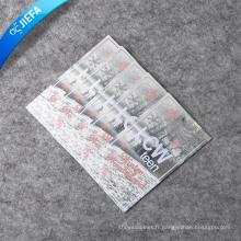 Conception d'étiquettes volantes découpées / étiquette en papier / balançoire