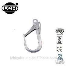 crochet mousqueton de sécurité de mousqueton en acier ovale de haute qualité