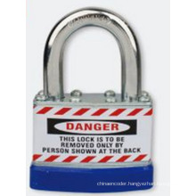 Laminated Padlock Steel Shackle Length 33mm Bd-J46