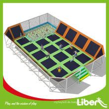 2014 Liben Neue Produkte Große Lustige Unterhaltung Indoor Trampolin Ausrüstung LE.BC.057