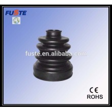 Injection molded rubber boot
