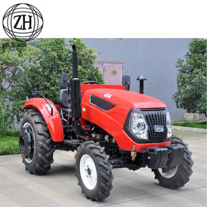 40HP Chassis Tinggi YTO Diesel Engine Farm Tractor