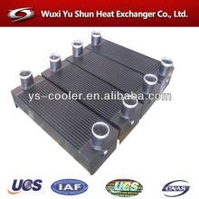 Fabricant d'échangeur de chaleur à l'aluminium personnalisé