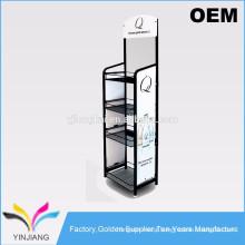 4 tiers floor stand design rack supermarket rack price