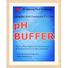 Ajustador de pH para productos químicos para el tratamiento del agua de piscinas