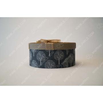 Caja de papel hecha a mano de decoración personalizada