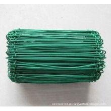 PET plástico revestido Metal Bag Tie Wire