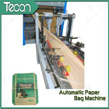 Bolsa de papel de cemento de alta velocidad y totalmente automático que hace la maquinaria