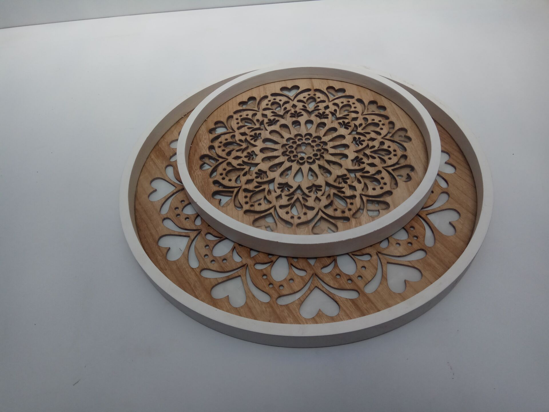 2017 new design wooen plate