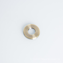 Outdoor Faucet Plate Stainless iron Steel Colored-light Round Tap Cap Decorative Cover