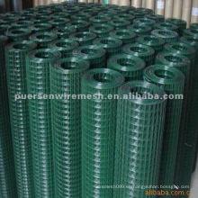 Malla de alambre soldada recubierta de PVC (fábrica)