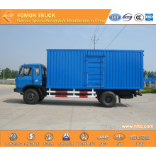 Dongfeng 4X2 Refrigerated Cold Room Van Truck