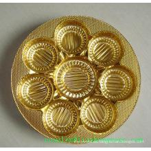 PVC Metalizado con Oro y Plata