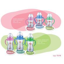 Нейтральная бутылочка для кормления из боросиликатного стекла BPA Free
