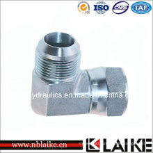 90 Degree Elbow 74 Degree Seat Male/Female Hydraulic Adapter