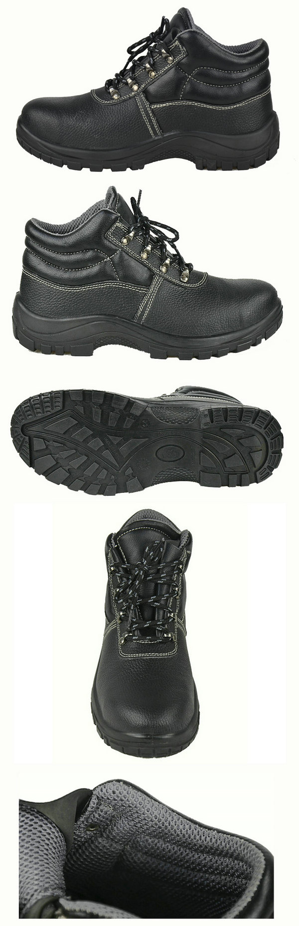 Classic Design Steel Toe Cap and Steel Midsole Safety shoes