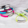 Wholesale micro usb carregador de pulseira iphone