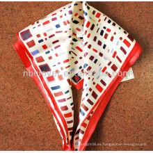 2013 bufanda de seda de la señora de la manera el 100%