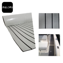 Light Grey + Black Color Marine EVA Foam Boat Flooring