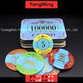 Crown Bronzing Poker Chip с ультрафиолетовым светом (YM-CP003-004)