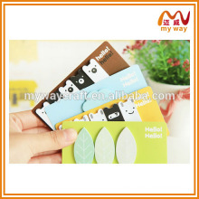 2016 the new korean stationery of cartoon mini sticky note pad