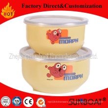 Sunboat 3 PCS conjunto de tigelas de mistura de esmalte utensílios de mesa