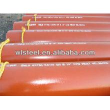 api 5l x52 / x42 / gr.b sch40 tubo de irrigação por gotejamento