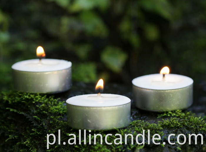 unscented candle