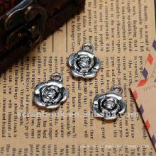 Оптовые продажи ремесло металла цветок / металлические винтажный стиль металлических цветов для скрапбукинга