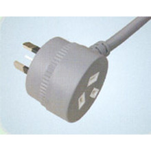 SAA Power Cord with Socket Australia Plug