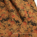 Vintage Style Printing Wildleder Stoffe für Kleidungsstück
