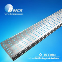 Heat Dissipation Slotted Cable Tray for construction with CE, NEMA, UL, ISO, SGS