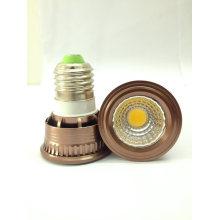 Fast Delivery E27 COB 3W Lâmpada LED