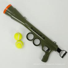 Venda quente Brinquedos Dog Toy Tennis Gun De Dog Ball
