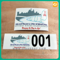 Taxi Advertising Sticker