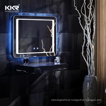LED Bathroom Mirror Wall Mounted Mirror Bathroom Vanity Mirror with Smart Touch Control
