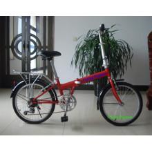 Популярные 6SP Город складные велосипеды (ФП-БПД-D016)