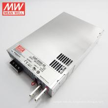 Fuente de alimentación MW PFC 3000W 48V con función paralela RSP-3000-48
