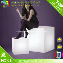RGB Color Change Night Club, Party LED Cube, étanche LED Cube Chair Lighting