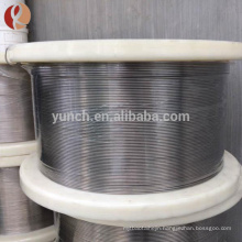 99.999% Ti high purity Gr5 titanium wire in spool with good quality