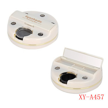 Innovative White Makeup Compact Powder Container