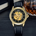 casual designers men's mechanical watch