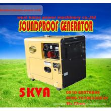 Hot Model Generator with CE ISO BV SGS 3-10kVA Silent Generator
