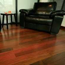 Waterproof Natural Prefinished Ipe Solid Wood Floor