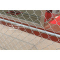 6X10FT uns Standard Temporary Zaun Kette Link Zaun mit Kreuz Stange Bar