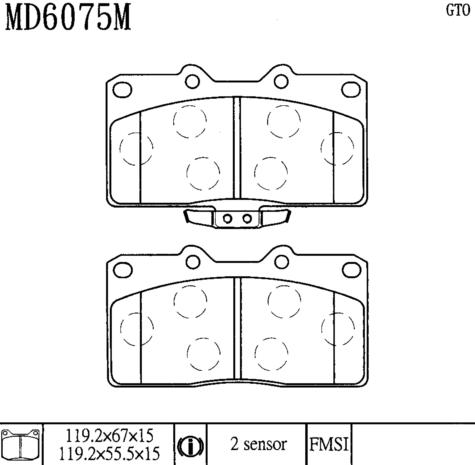 CD6075M